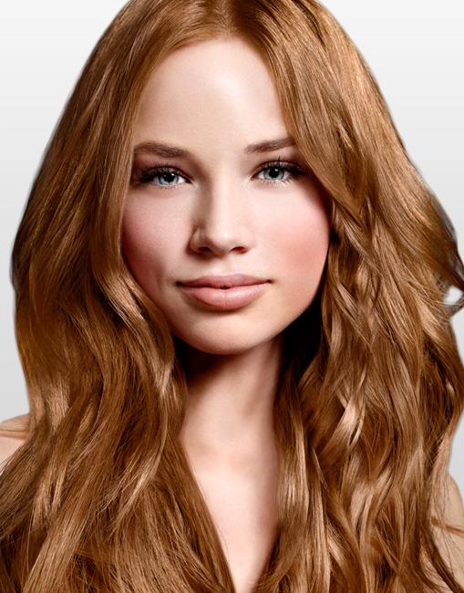 Coloration pour cheveux blond venitien