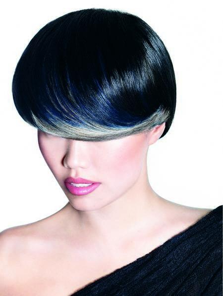 Cheveux noir bleut couleur cheveux - Couleur noir bleute ...