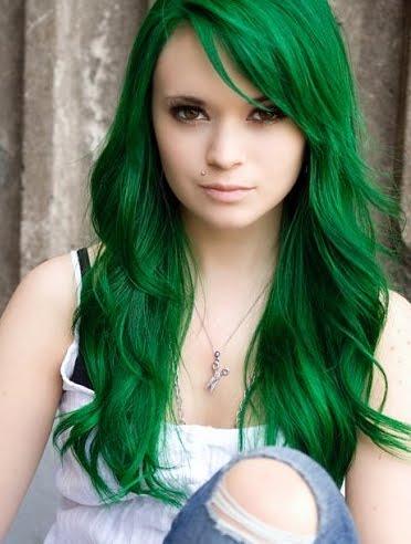 cheveux verts 1